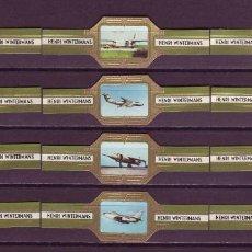 Vitolas de colección: HENRI WINTERMANS, AVIONES MILITARES, VERDE, 12 VITOLAS, SERIE COMPLETA.. Lote 151439846