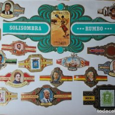 Vitolas de colección: LOTE DE VITOLAS ANTIGUAS AÑOS 60/70 LAS QUE SE VEN EN LAS FOTOS - MAS DE 90. Lote 151483034
