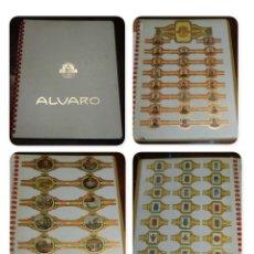 Vitolas de colección: ÁLBUM DE VITOLAS ÁLVARO, FÁBRICA DE TABACOS. (135 VITOLAS). CONQUISTADORES, ESCUDOS DE LAS PROVINCIA. Lote 151959574