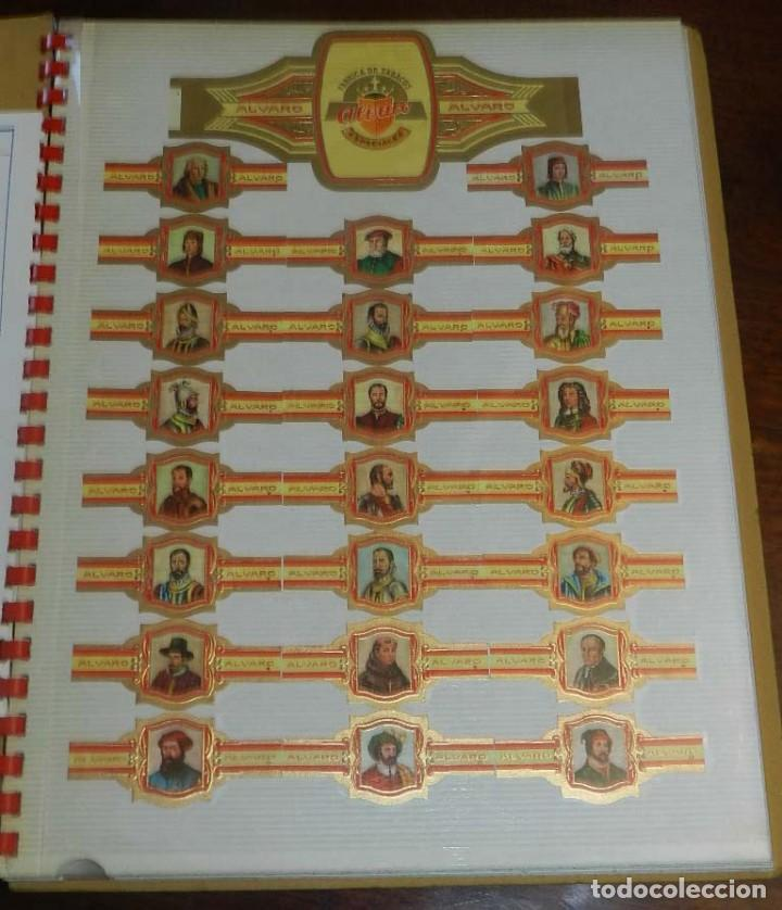 Vitolas de colección: ÁLBUM DE VITOLAS ÁLVARO, FÁBRICA DE TABACOS. (135 VITOLAS). CONQUISTADORES, ESCUDOS DE LAS PROVINCIA - Foto 3 - 151959574