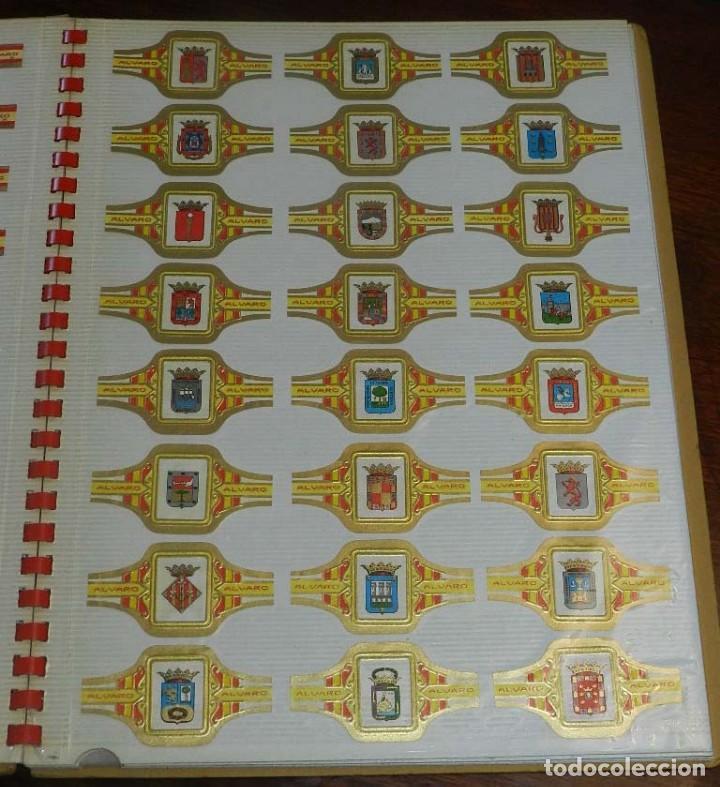 Vitolas de colección: ÁLBUM DE VITOLAS ÁLVARO, FÁBRICA DE TABACOS. (135 VITOLAS). CONQUISTADORES, ESCUDOS DE LAS PROVINCIA - Foto 5 - 151959574