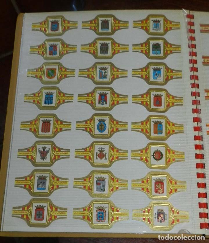 Vitolas de colección: ÁLBUM DE VITOLAS ÁLVARO, FÁBRICA DE TABACOS. (135 VITOLAS). CONQUISTADORES, ESCUDOS DE LAS PROVINCIA - Foto 6 - 151959574
