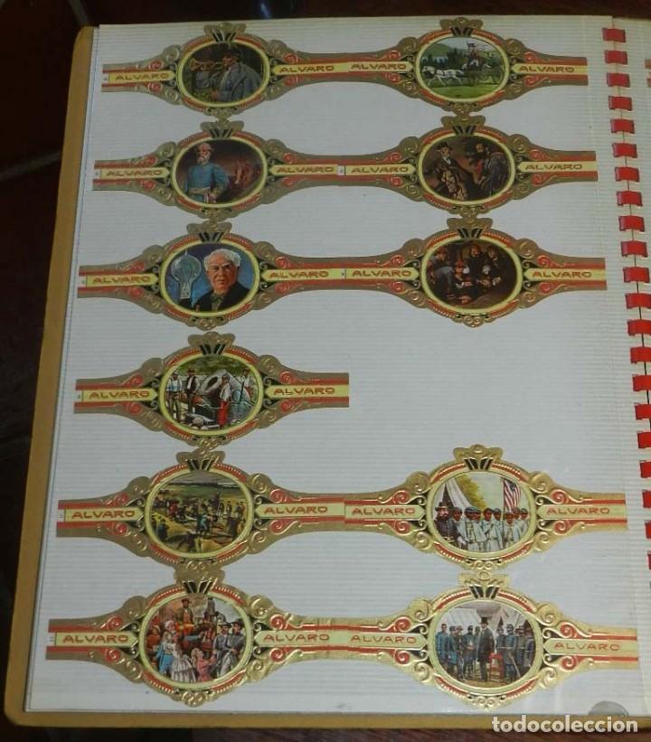 Vitolas de colección: ÁLBUM DE VITOLAS ÁLVARO, FÁBRICA DE TABACOS. (135 VITOLAS). CONQUISTADORES, ESCUDOS DE LAS PROVINCIA - Foto 8 - 151959574