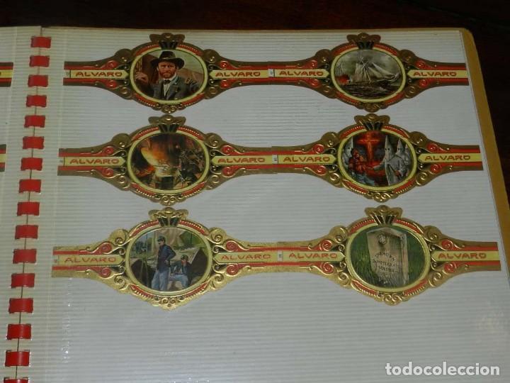 Vitolas de colección: ÁLBUM DE VITOLAS ÁLVARO, FÁBRICA DE TABACOS. (135 VITOLAS). CONQUISTADORES, ESCUDOS DE LAS PROVINCIA - Foto 9 - 151959574