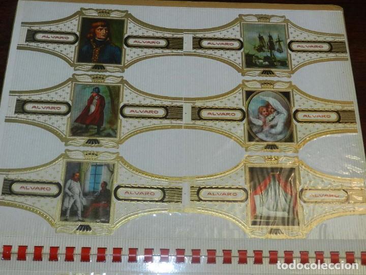 Vitolas de colección: ÁLBUM DE VITOLAS ÁLVARO, FÁBRICA DE TABACOS. (135 VITOLAS). CONQUISTADORES, ESCUDOS DE LAS PROVINCIA - Foto 10 - 151959574