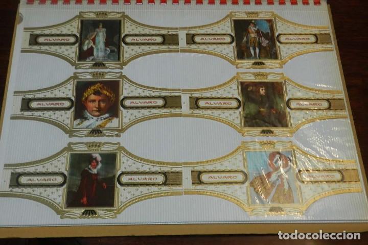 Vitolas de colección: ÁLBUM DE VITOLAS ÁLVARO, FÁBRICA DE TABACOS. (135 VITOLAS). CONQUISTADORES, ESCUDOS DE LAS PROVINCIA - Foto 11 - 151959574