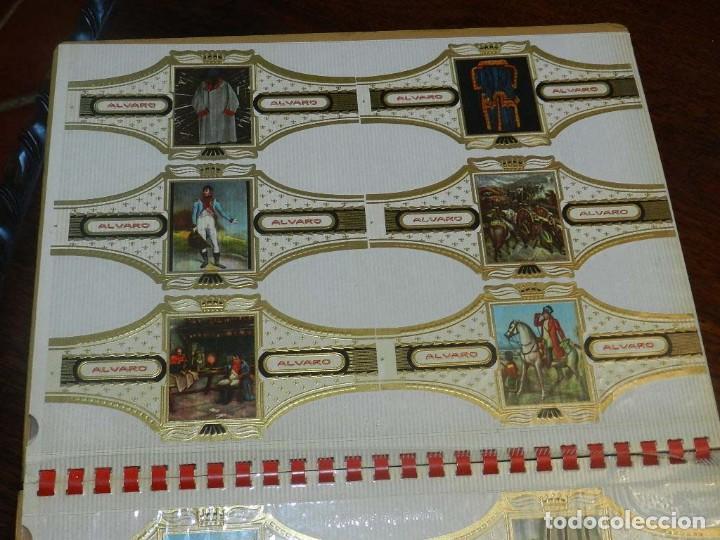 Vitolas de colección: ÁLBUM DE VITOLAS ÁLVARO, FÁBRICA DE TABACOS. (135 VITOLAS). CONQUISTADORES, ESCUDOS DE LAS PROVINCIA - Foto 12 - 151959574