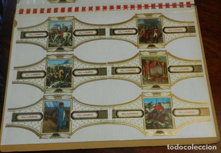 Vitolas de colección: ÁLBUM DE VITOLAS ÁLVARO, FÁBRICA DE TABACOS. (135 VITOLAS). CONQUISTADORES, ESCUDOS DE LAS PROVINCIA - Foto 13 - 151959574