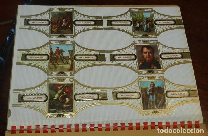 Vitolas de colección: ÁLBUM DE VITOLAS ÁLVARO, FÁBRICA DE TABACOS. (135 VITOLAS). CONQUISTADORES, ESCUDOS DE LAS PROVINCIA - Foto 14 - 151959574
