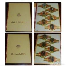 Vitolas de colección: 2 ÁLBUMES DE VITOLAS ÁLVARO, FÁBRICA DE TABACOS. (107 VITOLAS). DON QUIJOTE DE LA MANCHA. COMPLETA E. Lote 151961830