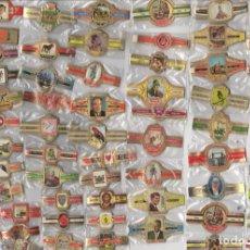 Vitolas de colección: BONITO LOTE DE 71 SERIES COMPLETAS DE VITOLAS TODAS DIFERENTES Y EN BUEN ESTADO . Lote 153952182