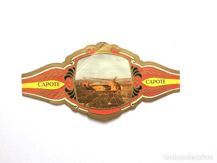 VITOLA - CAPOTE - HELICÓPTEROS (Coleccionismo - Objetos para Fumar - Vitolas)