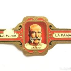 Vitolas de colección: VITOLA - LA FAMA - FRANZ JOSEF ALEMANIA. Lote 155854202