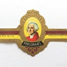 Vitolas de colección: VITOLA - CAPOTE - PERSONAJES Nº 7 - WASHINGTON. Lote 155855094