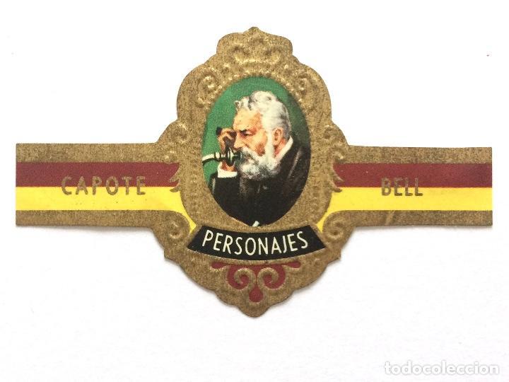 VITOLA - CAPOTE - PERSONAJES Nº 12 - BELL (Coleccionismo - Objetos para Fumar - Vitolas)