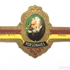Vitolas de colección: VITOLA - CAPOTE - PERSONAJES Nº 12 - BELL. Lote 155861486