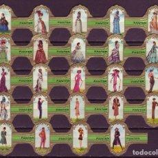 Vitolas de colección: PANTER, LA MODA FEMENINA, VERDE, 24 VITOLAS, SERIE COMPLETA.. Lote 155989850