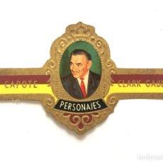 Vitolas de colección: VITOLA - CAPOTE - PERSONAJES Nº 10 - CLARK GABLE. Lote 155995786