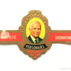 Vitolas de colección: VITOLA - CAPOTE - PERSONAJES Nº 9 - EISENHOWER. Lote 155996046