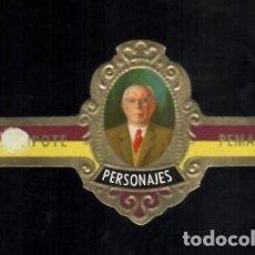 Vitolas de colección: TABACOS CAPOTE S.A. - COLECCIÓN PERSONAJES - 4 PEMAN. Lote 156657750