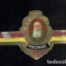 Vitolas de colección: TABACOS CAPOTE S.A. - COLECCIÓN PERSONAJES - 1 LEOPOLDO II. Lote 156658222