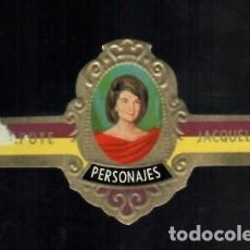 Vitolas de colección: TABACOS CAPOTE S.A. - COLECCIÓN PERSONAJES - 3 JACQUELINE. Lote 156658290