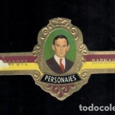 Vitolas de colección: TABACOS CAPOTE S.A. - COLECCIÓN PERSONAJES - 24 BARNARD. Lote 156658374