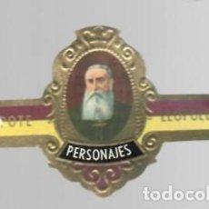 Vitolas de colección: TABACOS CAPOTE S.A. - COLECCIÓN PERSONAJES - 1 LEOPOLDO II. Lote 156659050