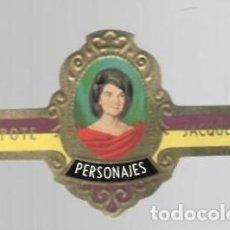 Vitolas de colección: TABACOS CAPOTE S.A. - COLECCIÓN PERSONAJES - 3 JACQUELINE. Lote 156659146