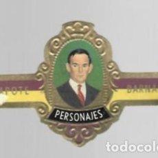 Vitolas de colección: TABACOS CAPOTE S.A. - COLECCIÓN PERSONAJES - 24 BARNARD. Lote 156659246