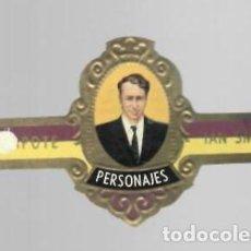 Vitolas de colección: TABACOS CAPOTE S.A. - COLECCIÓN PERSONAJES - 6 IAN SMITH. Lote 156659346