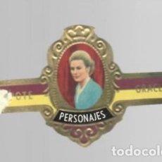 Vitolas de colección: TABACOS CAPOTE S.A. - COLECCIÓN PERSONAJES - 8 GRACE. Lote 156659426