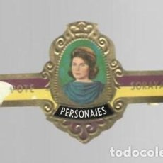 Vitolas de colección: TABACOS CAPOTE S.A. - COLECCIÓN PERSONAJES - 21 SORAYA. Lote 156659482