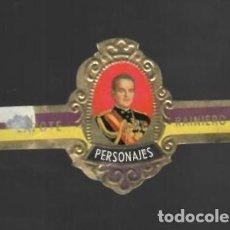 Vitolas de colección: TABACOS CAPOTE S.A. - COLECCIÓN PERSONAJES - 19 RAINIERO III. Lote 156659818
