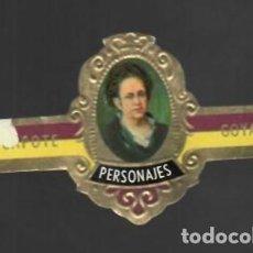 Vitolas de colección: TABACOS CAPOTE S.A. - COLECCIÓN PERSONAJES - 13 GOYA. Lote 156660286