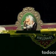 Vitolas de colección: TABACOS CAPOTE S.A. - COLECCIÓN PERSONAJES - 12 BELL. Lote 156660398