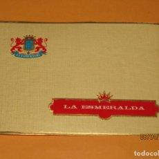 Vitolas de colección: HABILITACIÓN VISTA EXTERIOR FÁBRICA DE TABACOS ISLAS CANARIAS LA ESMERALDA LITOGRAFIADA. Lote 158936870