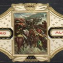 Vitolas de colección: ALVARO, NAPOLEON, Nº 16, EL EJERCITO FRANCES ATRAVESANDO EL PASO DE GUADARRAMA. Lote 160577246