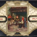 Vitolas de colección: ALVARO, NAPOLEON, Nº 17, NAPOLEON EN EL PENSAMIENTO. Lote 160577354