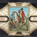 Vitolas de colección: ALVARO, NAPOLEON, Nº 18, NAPOLEON EN LA BATALLA DE WAGRAM. Lote 160577466
