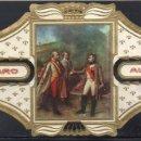 Vitolas de colección: ALVARO, NAPOLEON, Nº 20, NAPOLEON ENCONTRANDO EL EMPERADOR DE AUSTRIA DESPUES DE AUSTERLITZ. Lote 160577782