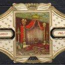 Vitolas de colección: ALVARO, NAPOLEON, Nº 22, SALON IMPERIAL DEL TRONO EN FONTAINEBLEAU. Lote 160578022