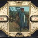 Vitolas de colección: ALVARO, NAPOLEON, Nº 23, NAPOLEON A BORDO DEL VAPOR BELLEROPHON. Lote 160578122