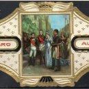 Vitolas de colección: ALVARO, NAPOLEON, Nº 26, NAPOLEON RECIBIENDO A LA REINA DE PRUSIA. Lote 160578462