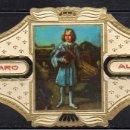 Vitolas de colección: ALVARO, NAPOLEON, Nº 30, RETRATO DEL REY DE ROMA EN SCHÖNBRUNN EN 1.819. Lote 160578670