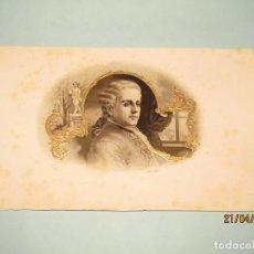 Vitolas de colección: ANTIGUA HABILITACIÓN LITOGRAFÍA DE TABACOS CUBA HABANOS CON ESTAMPADOS EN ORO. Lote 160750202