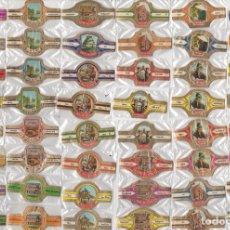Vitolas de colección: OFERTA ESPECIAL E IRREPETIBLE COMPUESTA POR 101 SERIES DE DERK DE VRIES, DIFERENTES Y COMPLETAS. Lote 162626170
