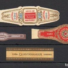 Vitolas de colección: VITOLA CLASICA: LOTE 141. Lote 163469410