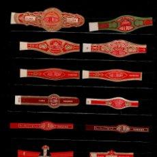 Vitolas de colección: VIT-12 VITOLAS ANTIGUAS CONJUNTO DE 14 EJEMPLARES. Lote 167995444