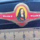 Vitolas de colección: VITOLA CLÁSICA WILLEM II. SERIE PERSONAJES. CIGAR BAND SIGAAR ETIKET. Lote 168395540